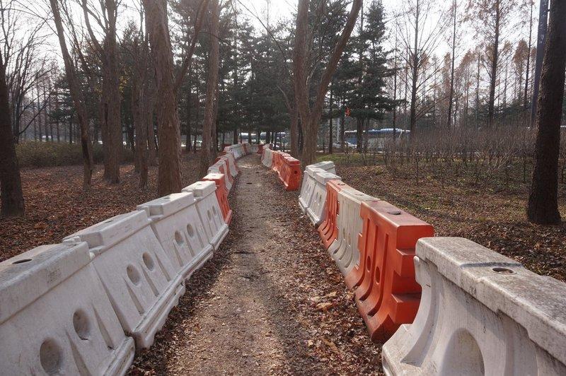 Seoul Trail leaves Yangjae Citizen's Forest
