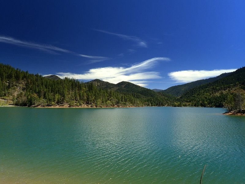 Applegate Lake (at full pool) from the Payette Trail.