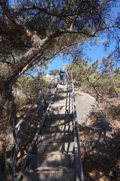 Seoul City Wall Trail on Inwangsan Mountain