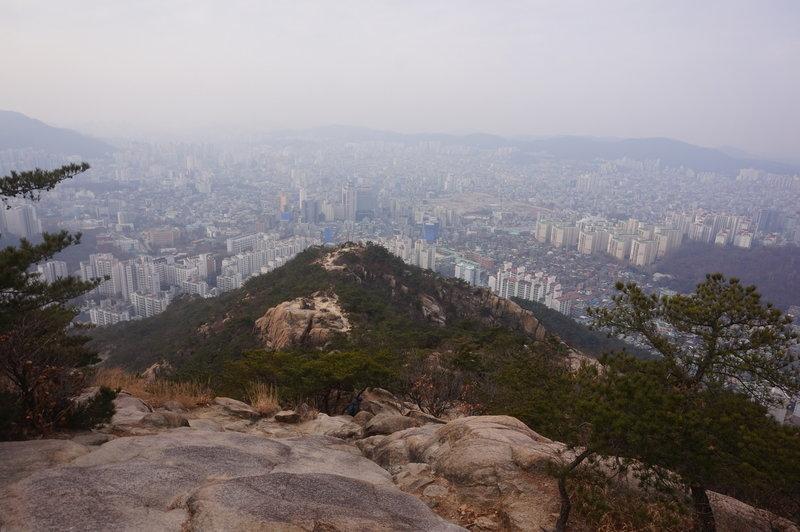 Greater Seoul from Jokduribong Peak