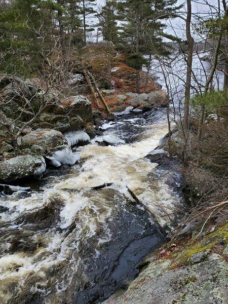 The Falls at Depot Lakes.