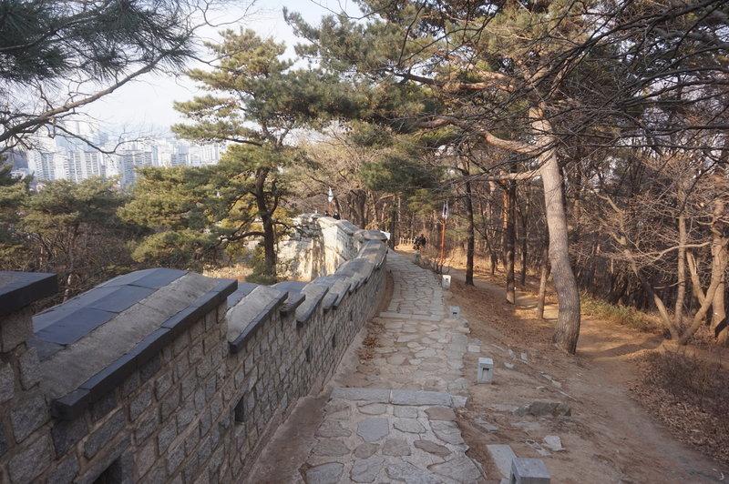 Hwaseong Fortress Loop at the Western Artillery Pavilion.