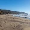 The beach just below Bluff Trail.