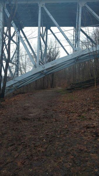 Under the state rd bridge