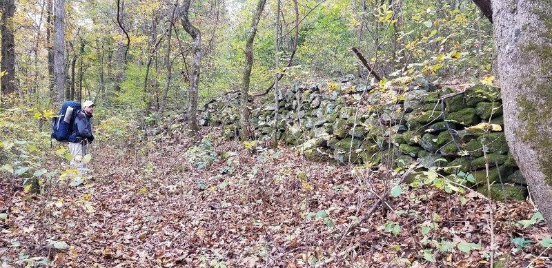 October 2020 Chimney Rock Trail.