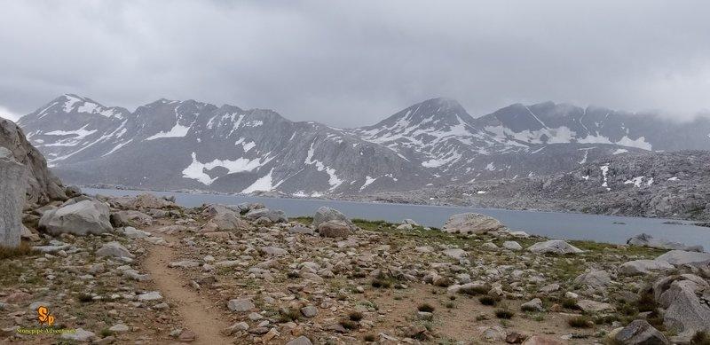 July 2018 JMT thru Hike. South bound. Wanda Lake