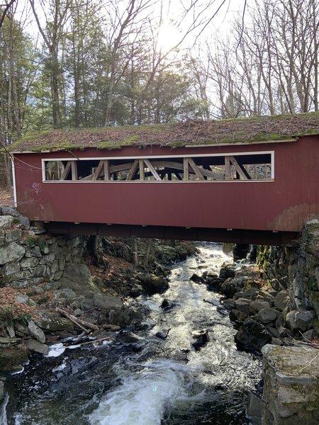Burr Covered Bridge.