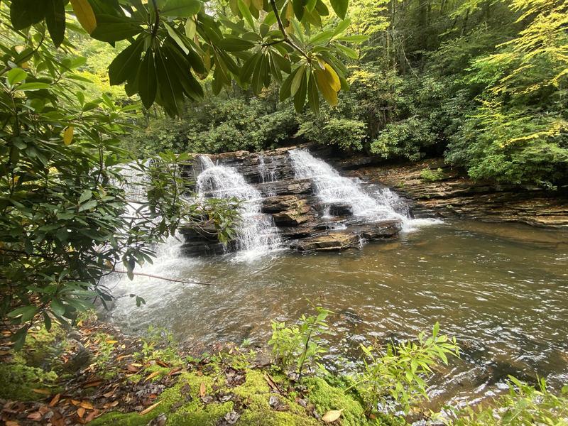 Upper Cascades Falls on the Little Stony Creek.