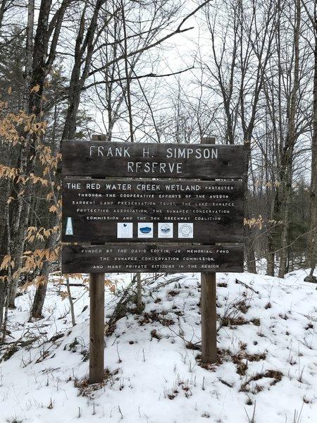 Frank H. Simpson Reserve