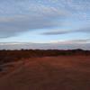 Golden hour on Carmel Mesa Preserve