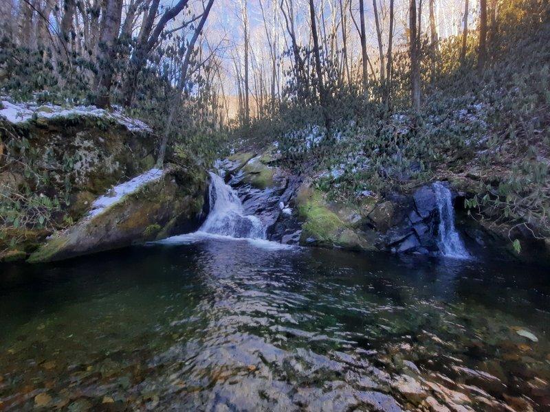 Gunter Fork Falls