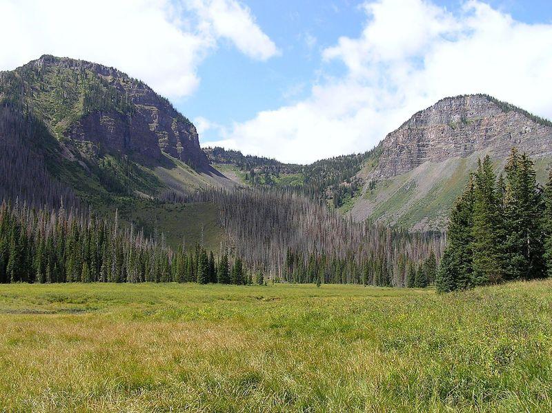 Approach to Boulder Lake