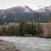 Winter in the mountains along the lower Elwha.
