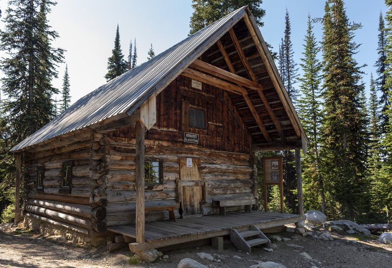 The historic Slocan Chief Cabin, now a museum.