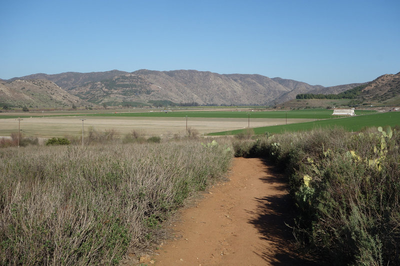 Witman Ranch viewed from the Raptor Ridge Trail.