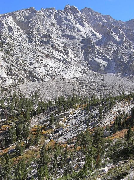 Meyson Creek from trail.