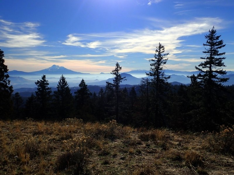 Mount Shasta from Porcupine Mountain.