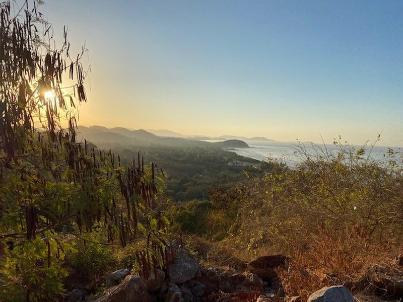 Sunrise at Troncones Mirador Overlook