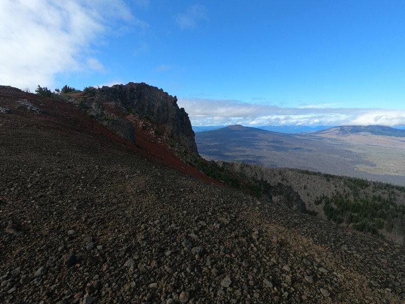 Black Crater summit (11-04-2020)