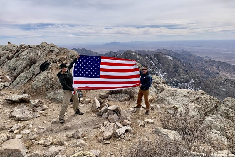 """Two future Sergeants Major making the climb to the top! Class 71- """"Always Forward!"""""""