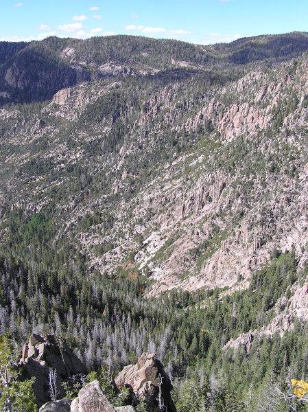 Left Fork Santa Clara River basin.  (09-25-2011)