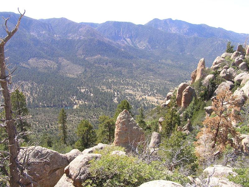 Pine Valley from Gardner Peak Trail.