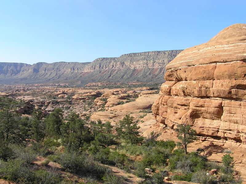 Interesting geologic formations along Thunder River Trail. (09-29-2011)