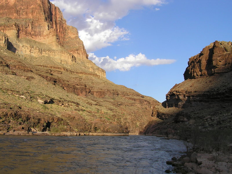 Morning at campsite along Colorado River (10-01-2011)