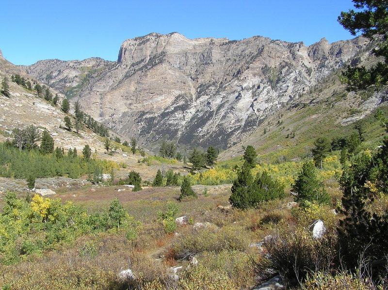 Lamoille Canyon from Thomas Creek Trail. (09-18-2015)