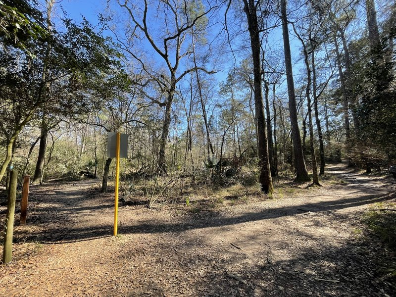 Burroughs Park Extension TrailHead Spring Creek Trail.