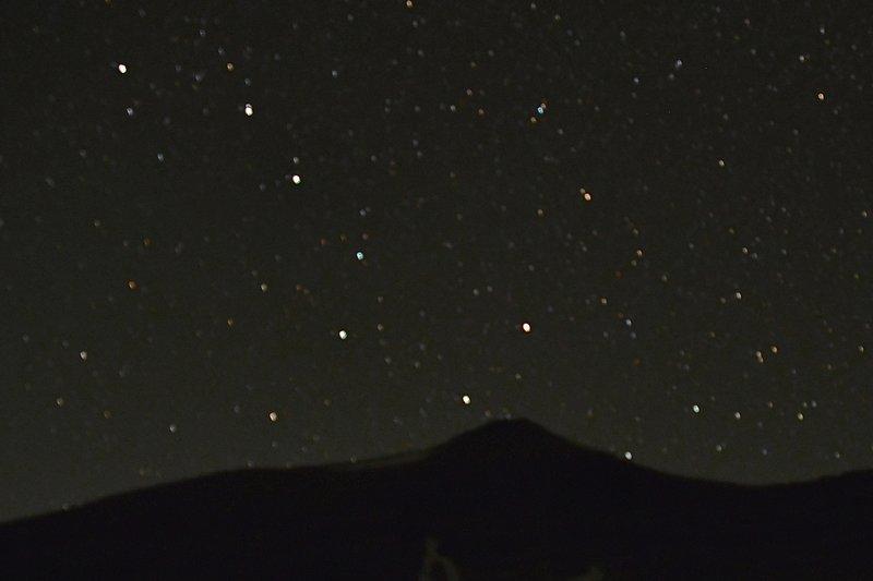 "The ""Big Dipper"" over Siyeh Peak (Aug'20)"