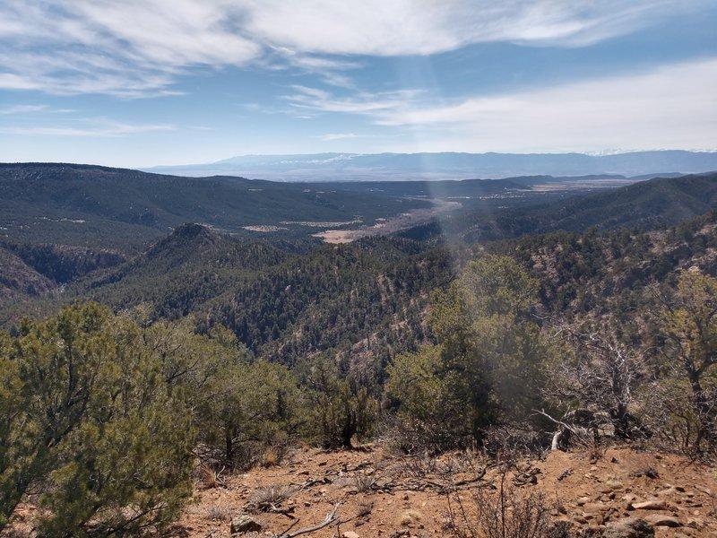 Looking Back Towards Trailhead