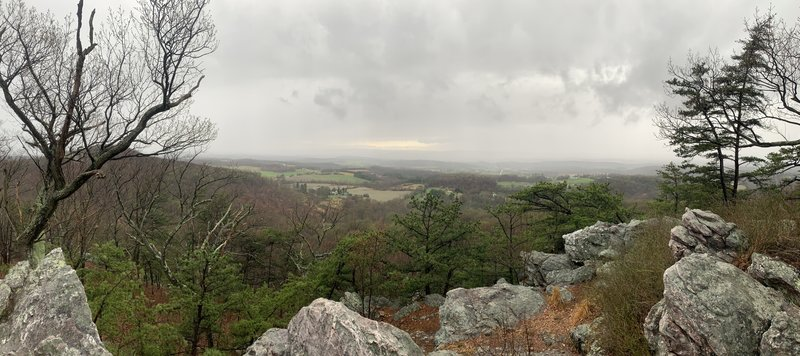 View from White Rocks.