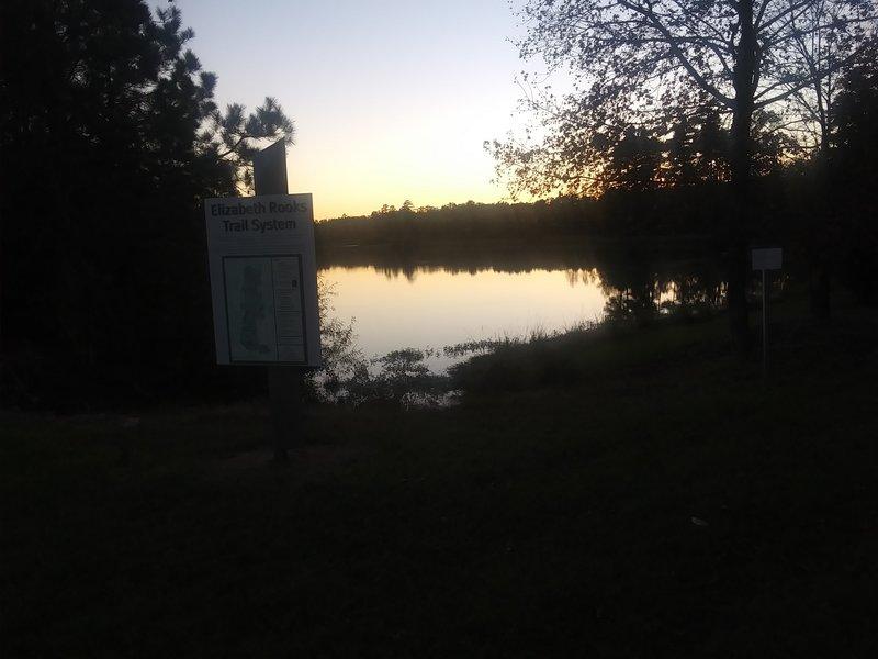 Lake at Twlight