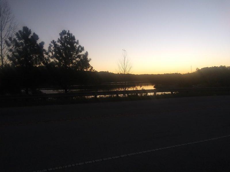 Lake Betz at sunset