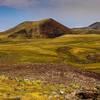 Volcanic craters on Gegham mountan range