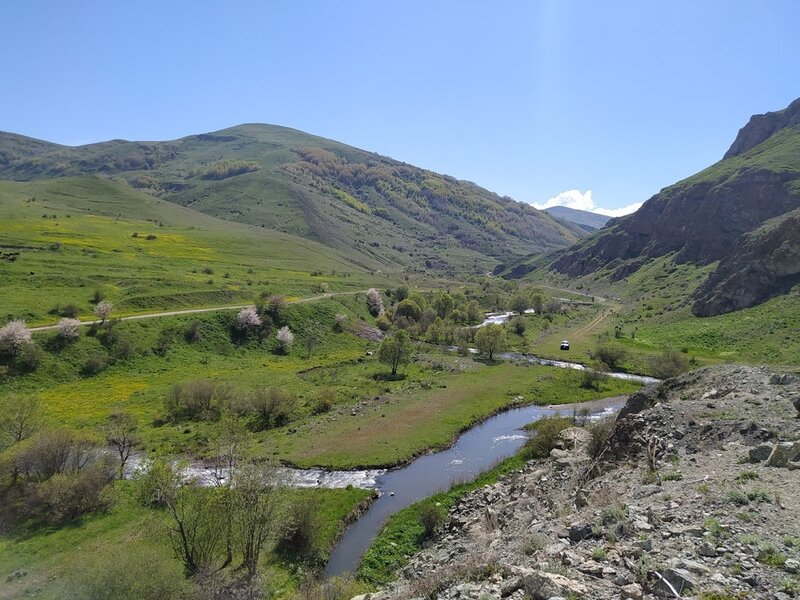 Chichkan river valley