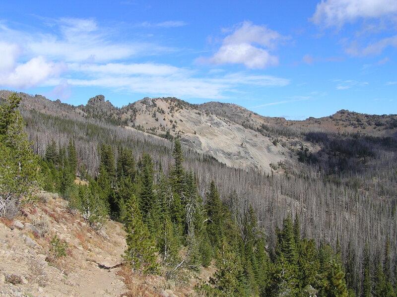 Trail to High Lake (10-3-2018).