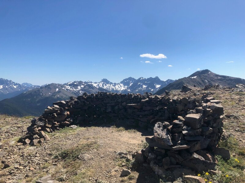 Top of Baldy