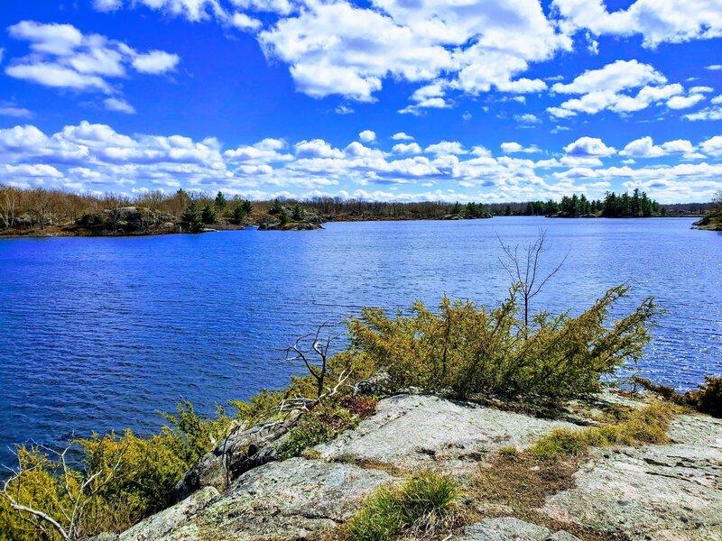 View over Haley Lake