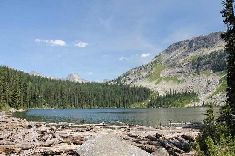 View from Drinnon Lake.