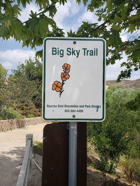 Big sky trailhead
