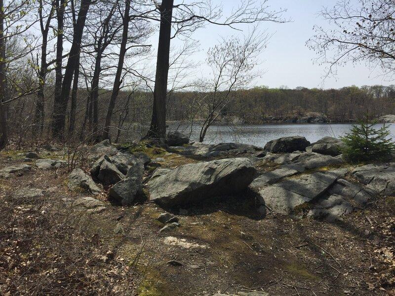 Red Trail - lake view