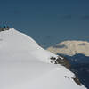 Mount St Helens behind Silver Star