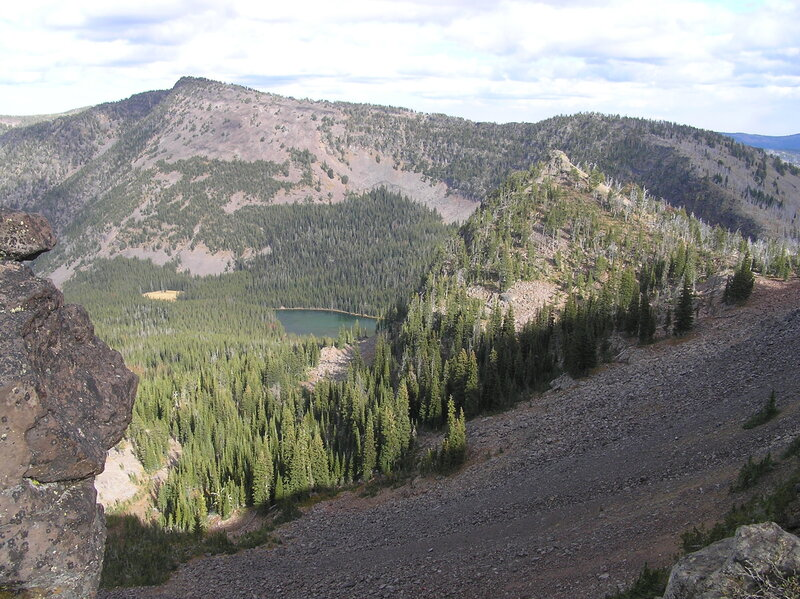Slide Lake from pass (10-3-2018)