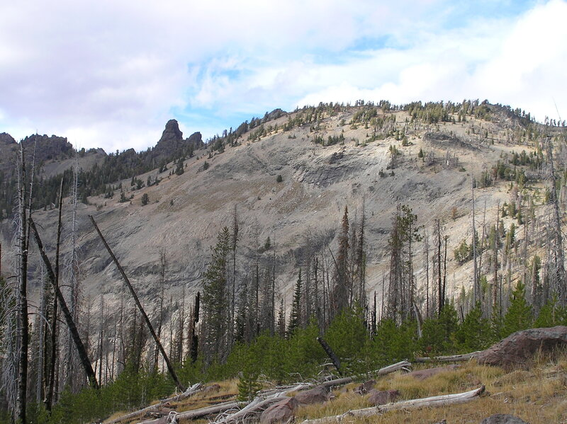 Rabbit Ears from trail (10-3-2018)