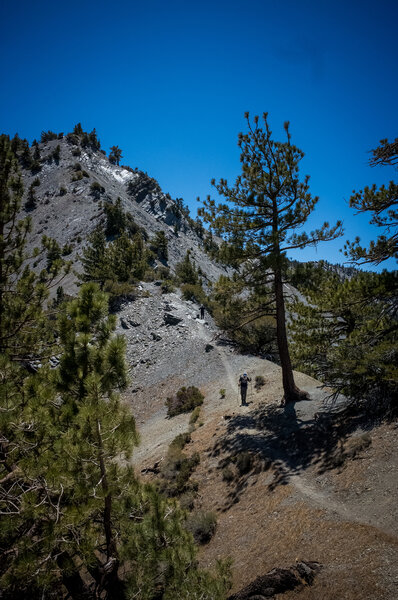 North Backbone Trail; photo by Adrian Centoni