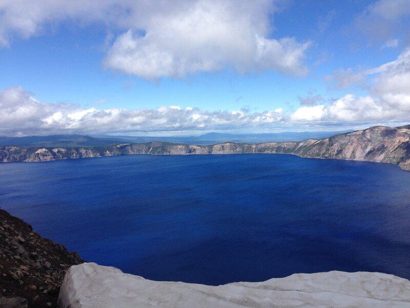 Great view at Crater Lake