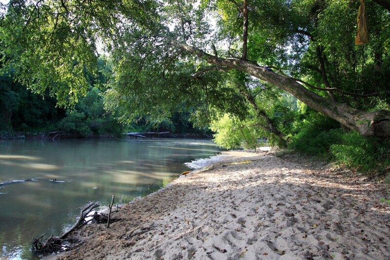 Amite River Beach