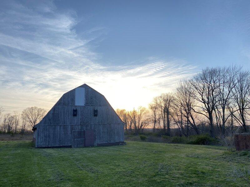 Barn at the trailhead